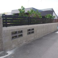 ブロック塀リフォーム工事